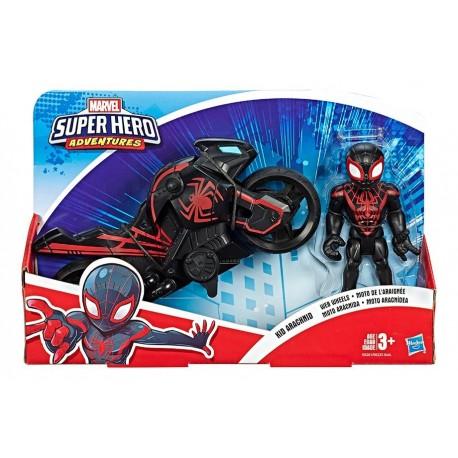 Marvel Figura Y Moto 5 Kid Arcnido (Entrega Inmediata)