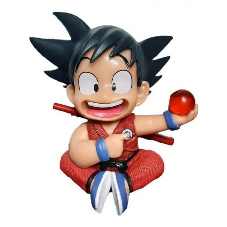 Figura Goku Niño Sentado Dragon Ball (Entrega Inmediata)