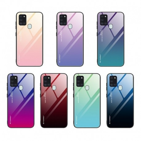 Funda Estuche Protector Bicolor Samsung A21s (Entrega Inmediata)