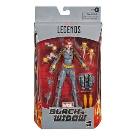 Marvel Legends Exclusiva Comic Black Widow Hasbro Nueva