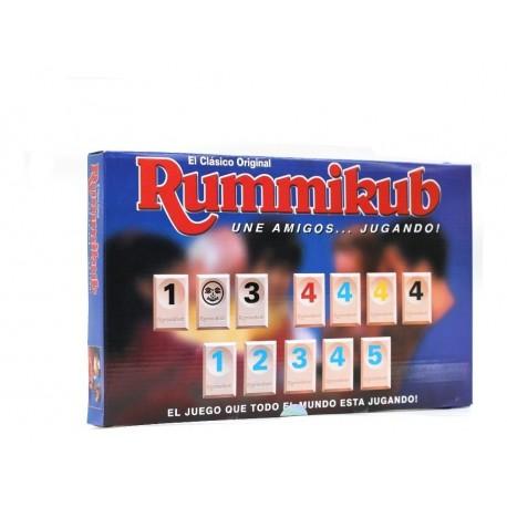 Rummi Rummy Juego De Mesa Niños Eco Caja Azul 3308 (Entrega Inmediata)