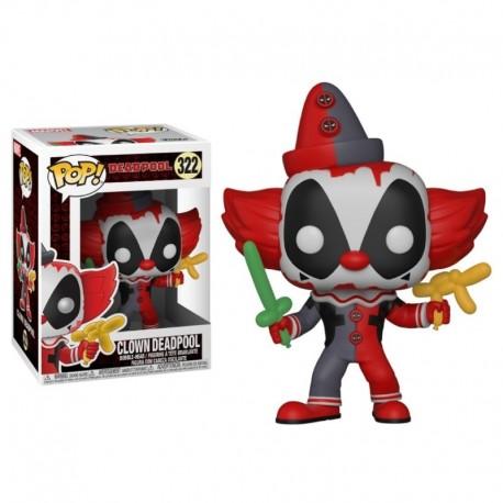 Marvel Clown Deadpool Figura Funko Pop