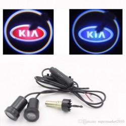 Luz Led Puerta Logo Kia Universal Todos Los Modelos Kia. (Entrega Inmediata)