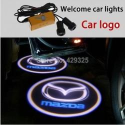 Luz Led Puerta Logo Mazda Universal Todos Los Modelos Mazda. (Entrega Inmediata)