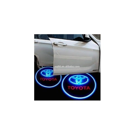 Luz Led Puerta Logo Toyota Universal Los Modelos Toyota . (Entrega Inmediata)