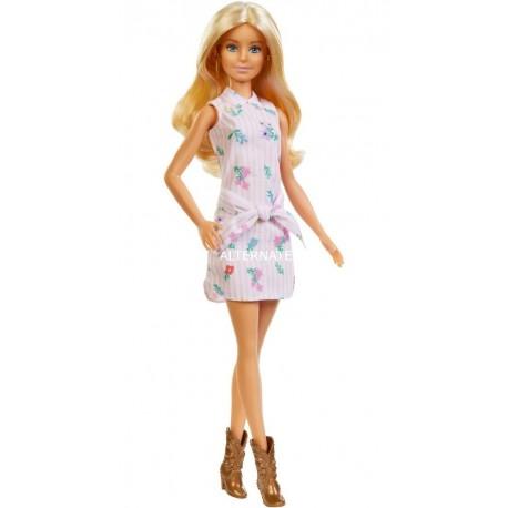 Barbie Fashionistas 119 Rubia Con Botas Mattel Fxl52