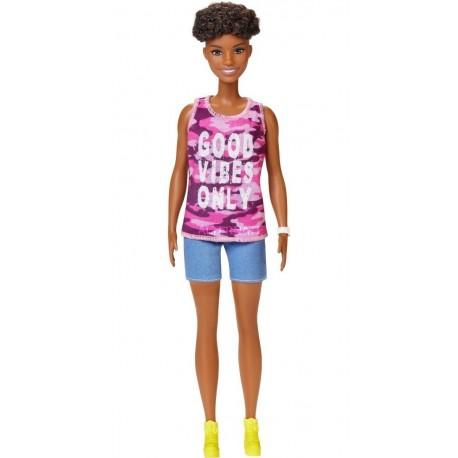 Muñeca Barbie 30cm Fashionista 128 Mattel Ghp98