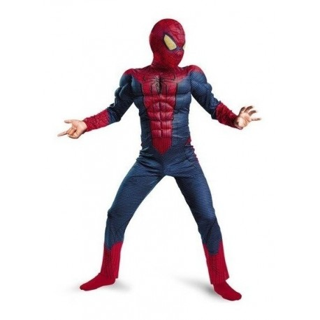 Disfraz Spiderman Musculos Halloween