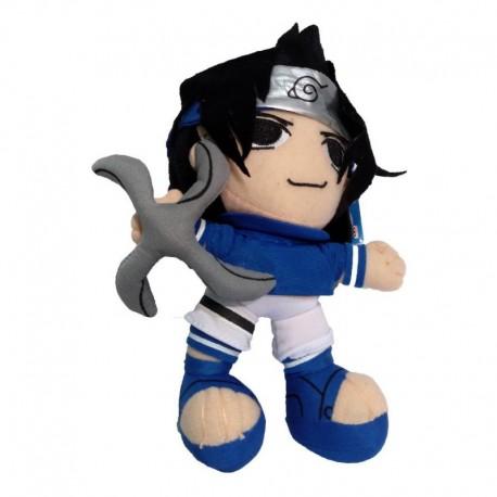 Naruto Peluche Sasuke Uchiha Shuriken (Entrega Inmediata)