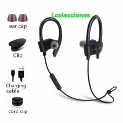 Bluetooth Deportivos Impermeables Para Música Y Llamadas Hd (Entrega Inmediata)
