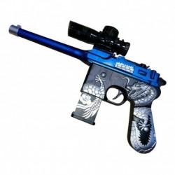 Pistola Lanzador 33cm Bolas Hidrogel Recargable Ref. Mp-5