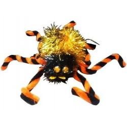 Araña Negra X 6 Tarántula Halloween Fiesta Decoración (Entrega Inmediata)