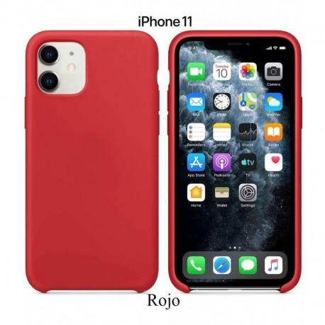 Case Funda Forro Silicone Silicona iPhone 11 (Entrega Inmediata)