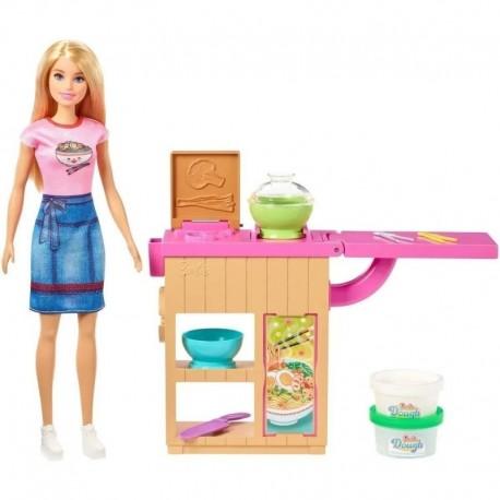 Muñeca Barbie Set Cocina De Fideos Ghk43 (Entrega Inmediata)