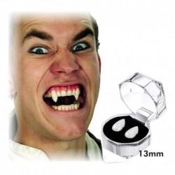 ¡ Colmillos De Vampiro 2 Unidades Para Halloween !! (Entrega Inmediata)