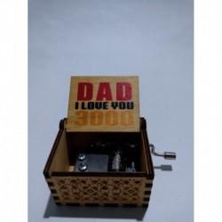 Avengers Dad I Love You 3000 Caja Musical Youare My Sunshine (Entrega Inmediata)