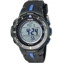 Reloj Casio Para Hombre Prg3001a2 Solar Con Triple Sensor