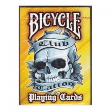 ¡ Cartas Bicycle Club Tattoo Baraja Poker Black Jack Naipe!! (Entrega Inmediata)