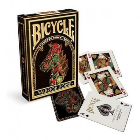 ¡ Cartas Bicycle Warrior Horse Playing Cards Baraja Poker !! (Entrega Inmediata)