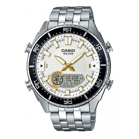 Reloj Casio Hombre Amw-720d-7avcf Ana-digi Color Entrega Ya