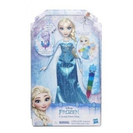 Muñeca Hasbro Disney Frozen Crystal Glow Elsa B6162 (Entrega Inmediata)