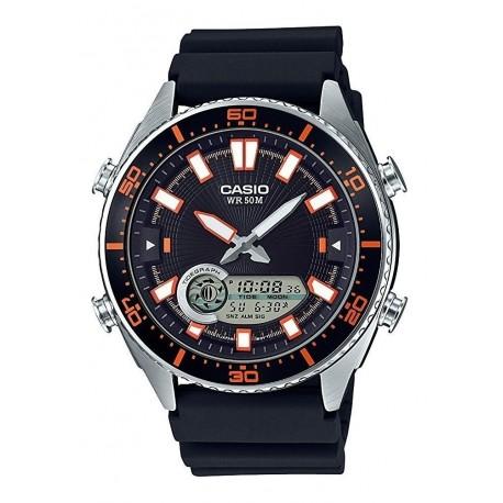 Reloj Casio Hombre Amw-720-1avcf Ana-digi Color Entrega Ya