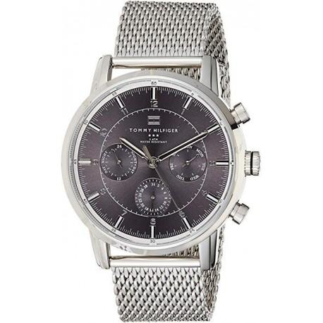 Reloj Hombre Tommy Hilfiger 1790877 En Acero Plateado