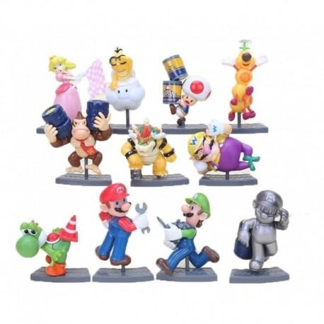 Set De Figurassuper Mario Bros Mario Kart 7 (Entrega Inmediata)