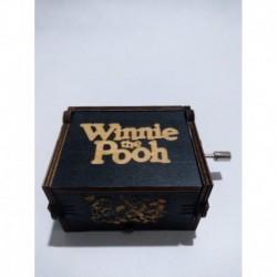 Winnie Pooh Caja Musical Color Negro (Entrega Inmediata)