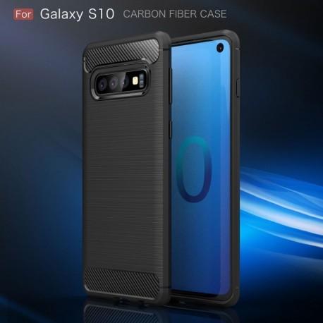 Estuche Protector Fibra De Carbono Samsung S10