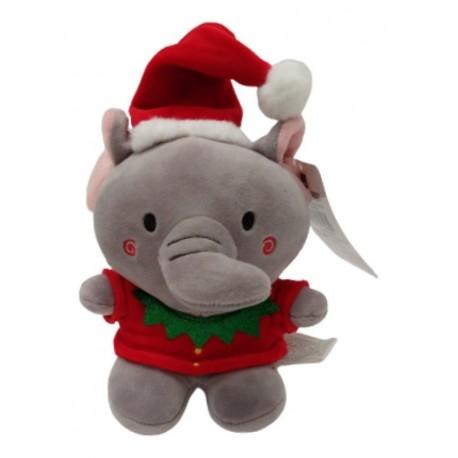 Peluche Navidad Elefante Pequeño (Entrega Inmediata)