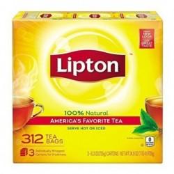312 Bolsitas De Té Negro Lipton, America's Favorite Tea (Entrega Inmediata)