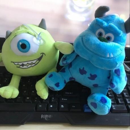 Monsters Inc University Peluches Mike Wazowski/sullivan 20cm (Entrega Inmediata)
