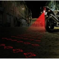 Láser De Corazon Anti -colisión Motos Y Carros Luz De Niebla (Entrega Inmediata)