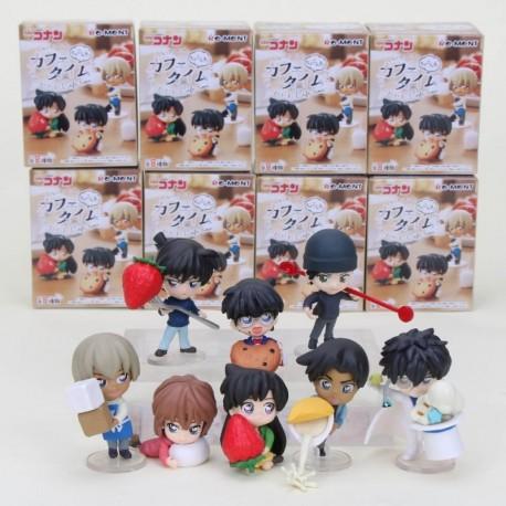 Detective Conan Chokonto Cafe Time Colección 8 Figuras Caja (Entrega Inmediata)