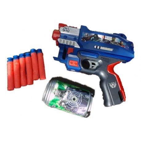 Pistola De Dardos Los Vengadores - Avengers (Entrega Inmediata)