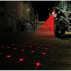 Láser De Estrella Anti -colisión Motos Y Carros Luz D Niebla (Entrega Inmediata)