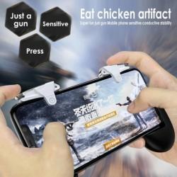 Pubg Móvil Gamepad Gatillo Celular iPhone Y Android L1 R1.. (Entrega Inmediata)