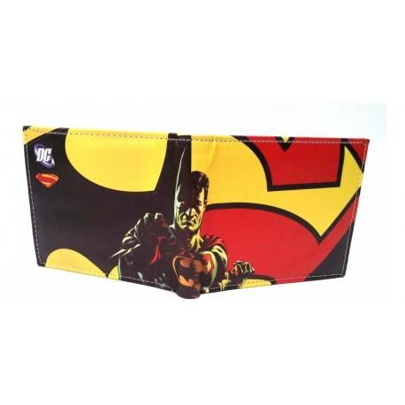 Batman Vs Superman Dc Billetera Material Sintético (Entrega Inmediata)