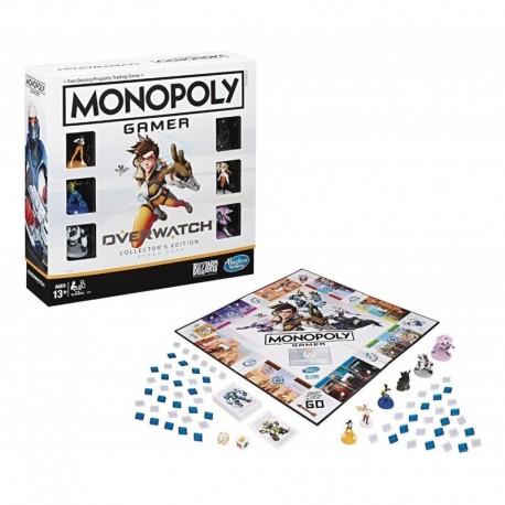 Monopoly Gamer Overwatch Collector's Edition Hasbro E6291 (Entrega Inmediata)