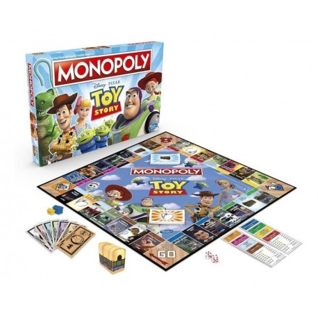 Monopoly Toy Story Hasbro Gaming E5065 Juego De Mesa