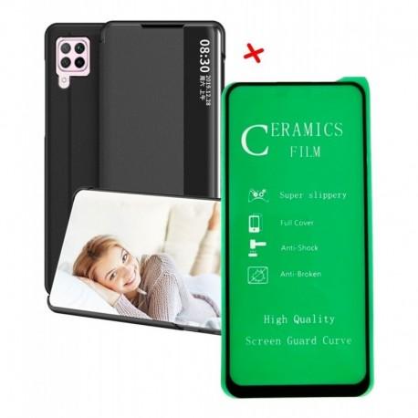 Funda Estuche Smart Cover + Vidrio Cerámico Huawei P40 Lite (Entrega Inmediata)