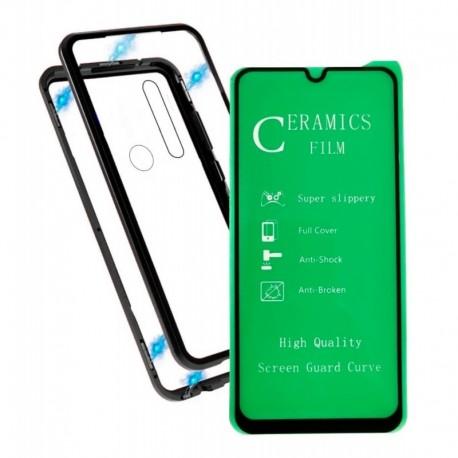 Estuche Magnetico - Magnetic Case + Vidrio 5d Samsung A30s (Entrega Inmediata)