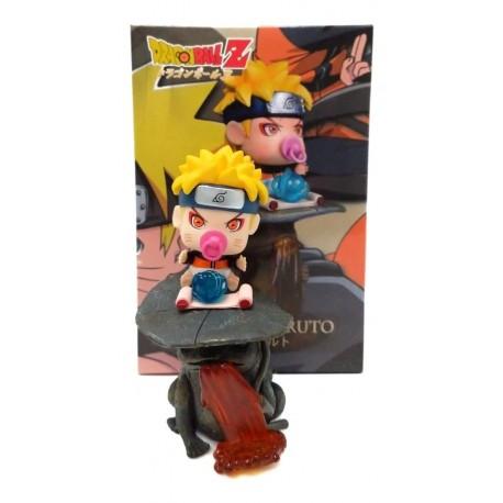Naruto Uzumaki Naruto Bebé Con Chupo Figura En Caja (Entrega Inmediata)