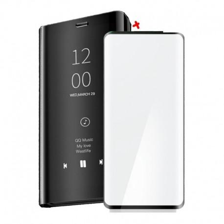 Estuche Funda Flip Cover De Lujo + Vidrio 3d Huawei P40 Pro (Entrega Inmediata)