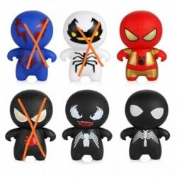 Spiderman Comics Mini 7 Cms Decorativo Coleccionables (Entrega Inmediata)