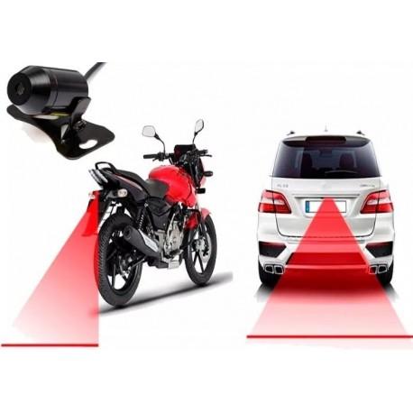 Laser Anti -colisión Trasera Para Motos Luz De Niebla (Entrega Inmediata)