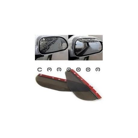 Protector Lluvia Para Retrovisor De Auto En Negro Universal (Entrega Inmediata)