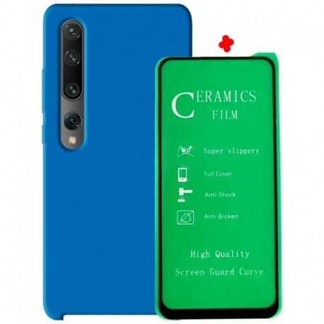Estuche Silicone Case Vidirio 5d + Protector Camara Xiaomi (Entrega Inmediata)