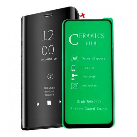 Estuche Flip Cover De Lujo + Vidrio Cerámico Samsung A51 (Entrega Inmediata)